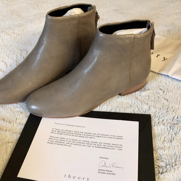 Theory Shoes - THEORY miriam branson boot, EU 37.5